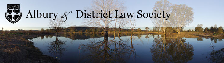 Albury & District Law Society Website Home Page